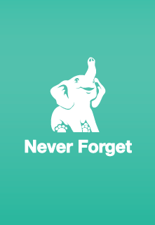 Never Forget App.